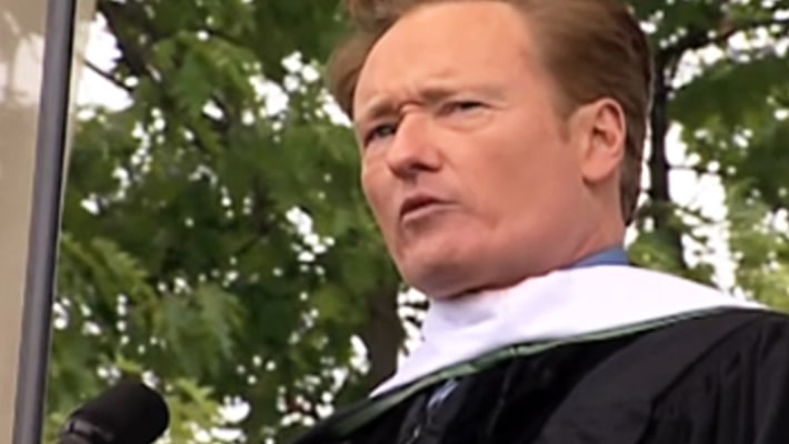 Dartmouth College and Conan O'Brien